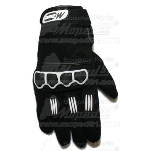 kerékpár láncvédő 16-20 col, 36-40T, 120 mm, tartóvassal, műanyag, átlátszó metál szürke szín LYNX