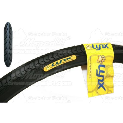 kerékpár kesztyű BRING1 XS rövid ujjas piros/fekete szintetikus bőr tenyér,sztreccs és hálós kézfej, zselés tenyérkitöltés LYNX